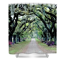 St Francisville Plantation Shower Curtain