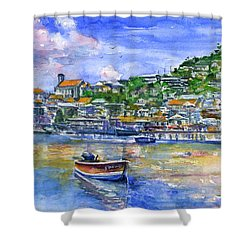 St. George Grenada Shower Curtain