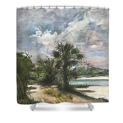 St. George Island Shower Curtain