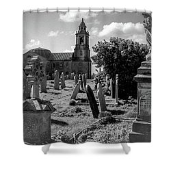 St Georges Angel Shower Curtain