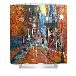 St Germaine Paris Shower Curtain by Judi Goodwin