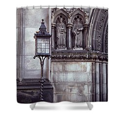 Shower Curtain featuring the photograph St. Giles Cathedral by Kenneth Campbell