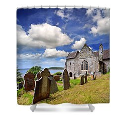 St Ishmael's Church Shower Curtain