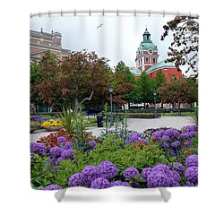 St Jacobs Church Stockholm Shower Curtain