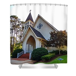 St. James V2 Fairhope Al Shower Curtain by Michael Thomas