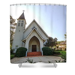 St. James V3 Fairhope Al Shower Curtain by Michael Thomas
