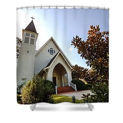 St. James V4 Fairhope Al Shower Curtain by Michael Thomas