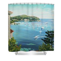 St Jean Cap Ferrat 2 Shower Curtain