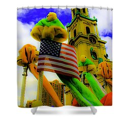 St. Johns America Shower Curtain