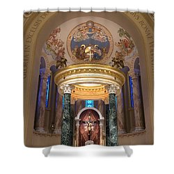 St. Joseph Cathedral-sioux Falls Sd Shower Curtain