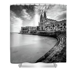 Shower Curtain featuring the photograph St. Julien by Okan YILMAZ