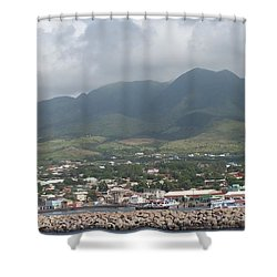 St. Kitts Color Shower Curtain