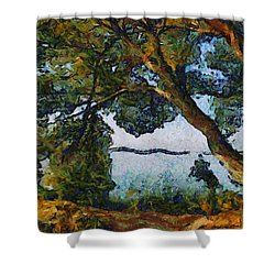 St. Lawrence Point Shower Curtain