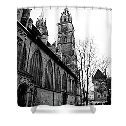 St. Lorenz Cathedral Shower Curtain