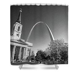 St. Louis Arch Shower Curtain