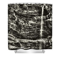 St Louis Canyon At Starved Rock State Park Shower Curtain