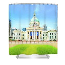 St. Louis Capital Shower Curtain