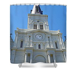 St. Louis Cathedral Study 1 Shower Curtain