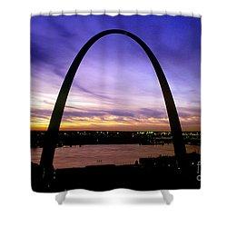 St. Louis, Missouri Shower Curtain