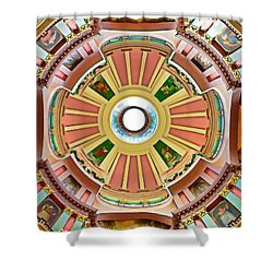 St Louis Old Courthouse Dome Shower Curtain