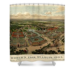 St. Louis Worlds Fair 1904 Shower Curtain