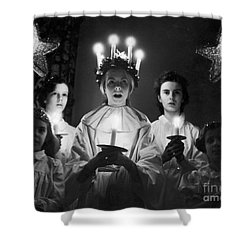 St. Lucia Day Shower Curtain by Granger