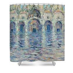 st-Marco square- Venice Shower Curtain by Pierre Van Dijk