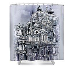 St Mark's Basilica. Shower Curtain