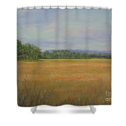 St. Marks Refuge I - Autumn Shower Curtain by Gail Kent