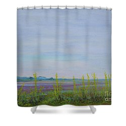 St. Marks Refuge I - Spring Shower Curtain