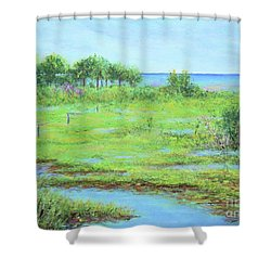 St. Marks Refuge I - Summer Shower Curtain