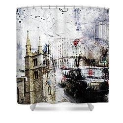 St Mary Axe Shower Curtain