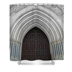 St. Mary Cathedral- Austin Texas Shower Curtain