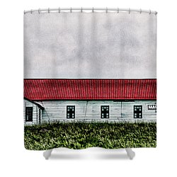 St. Mary Church, Babb, Mt Shower Curtain