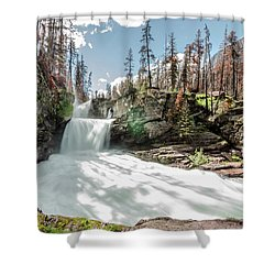St. Mary Falls Shower Curtain
