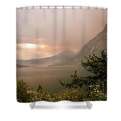 St Mary Lake In The Smoke Shower Curtain