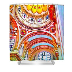 St. Mary Of The Angels 1 Shower Curtain