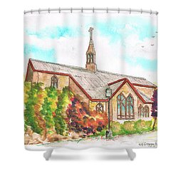 St. Mary's Catholic Church, Brighton, Utah Shower Curtain