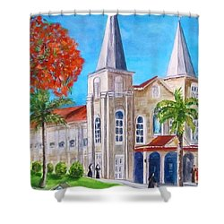 St. Mary's Catholic Church Key West Shower Curtain