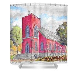 St. Mary's Catholic Church, Oneonta, Ny Shower Curtain