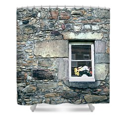 St. Mary's Window Shower Curtain