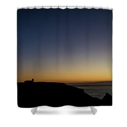 St. Materiana's Church, Tintagel Shower Curtain