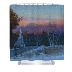 St. Matthews On Sugar Hill Road Shower Curtain