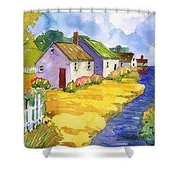 St Michael's Cottages Shower Curtain