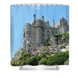 St Michael's Mount Castle Shower Curtain