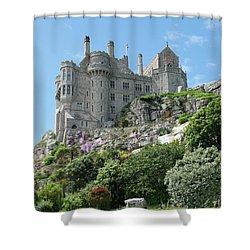 St Michael's Mount Castle II Shower Curtain