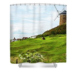 St Monans Windmill Shower Curtain