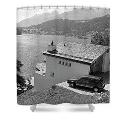 St Moritz Shower Curtain