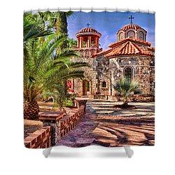 St. Nicholas Chapel Shower Curtain by Matt Suess