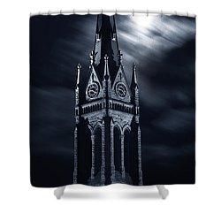 St Nicholas Church Wilkes Barre Pennsylvania Shower Curtain